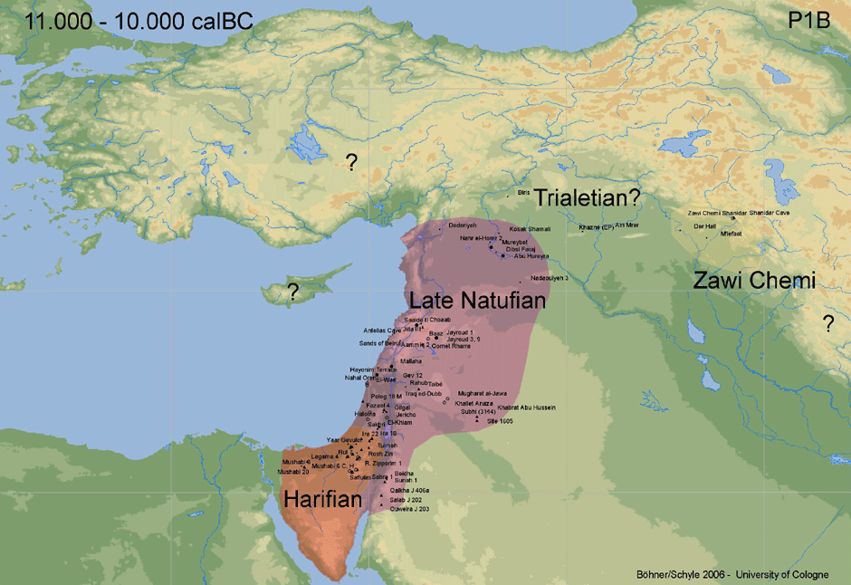 Impact of fertile crescent cultures?